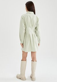DeFacto - Shirt dress - turquoise - 1