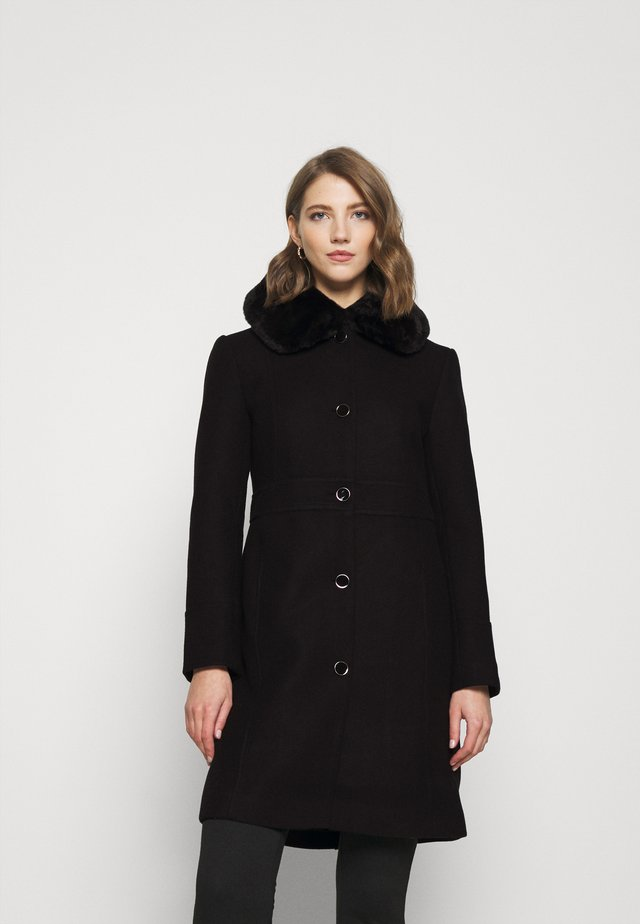 LINDA DOLLY - Manteau classique - black