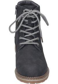 Rieker - Šněrovací kotníkové boty - gray - 4