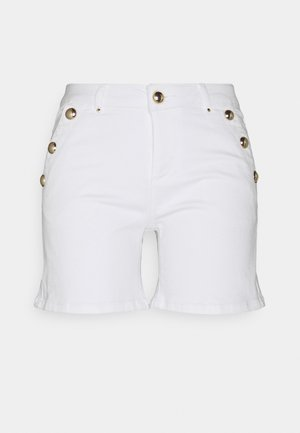 SHANA - Denim shorts - off white