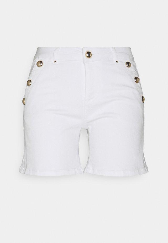 SHANA - Shorts di jeans - off white