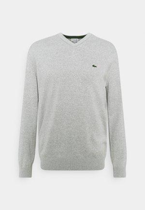 Pullover - silver chine