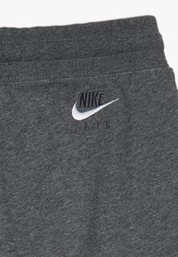 Nike Sportswear - AIR  - Tracksuit bottoms - charcoal heathr/dark grey heather/white - 3