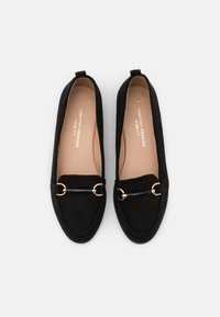 Dorothy Perkins Wide Fit - WIDE FIT LOON SNAFFLE LOAFER - Slip-ons - black - 5