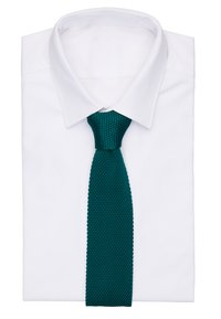Twisted Tailor - BOWIE TIE - Krawat - bottle green - 1