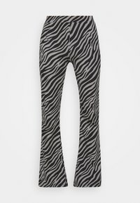 ONLY Tall - ONLLIVE LOVE FLARED PANTS - Trousers - dark grey - 0