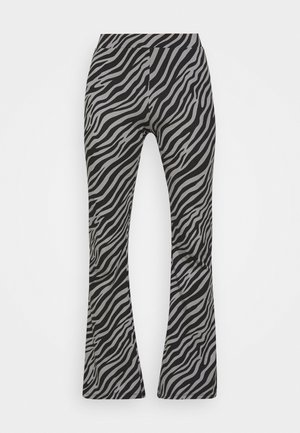 ONLLIVE LOVE FLARED PANTS - Trousers - dark grey