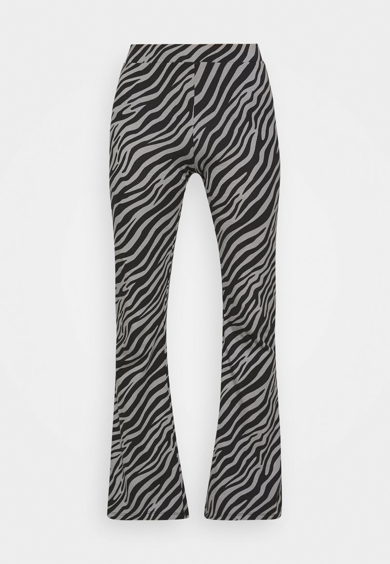 ONLY Tall - ONLLIVE LOVE FLARED PANTS - Trousers - dark grey