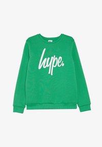 Hype - KIDS CREWNECK SCRIPT - Sudadera - green - 2