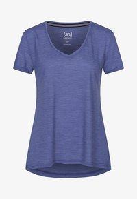 super.natural - TRAVEL - Basic T-shirt - blue - 1