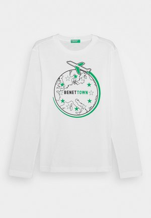 FUNZIONE BOY - Long sleeved top - white