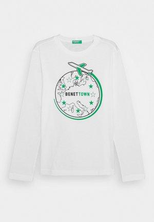 FUNZIONE BOY - Langarmshirt - white
