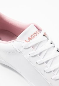 Lacoste - LEROND  - Trainers - wihte/light pink - 2