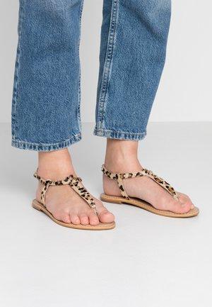 SAMBA - T-bar sandals - multicolor