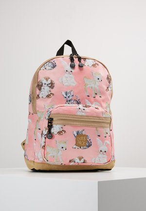 CUTE ANIMALS BACKPACK - Rucksack - rose