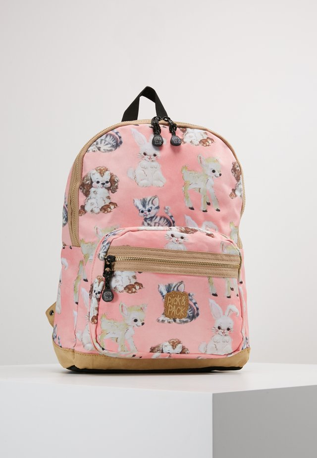 CUTE ANIMALS BACKPACK - Sac à dos - rose