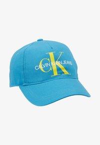 Calvin Klein Jeans - PRINTED MONO BASEBALL - Casquette - blue - 1