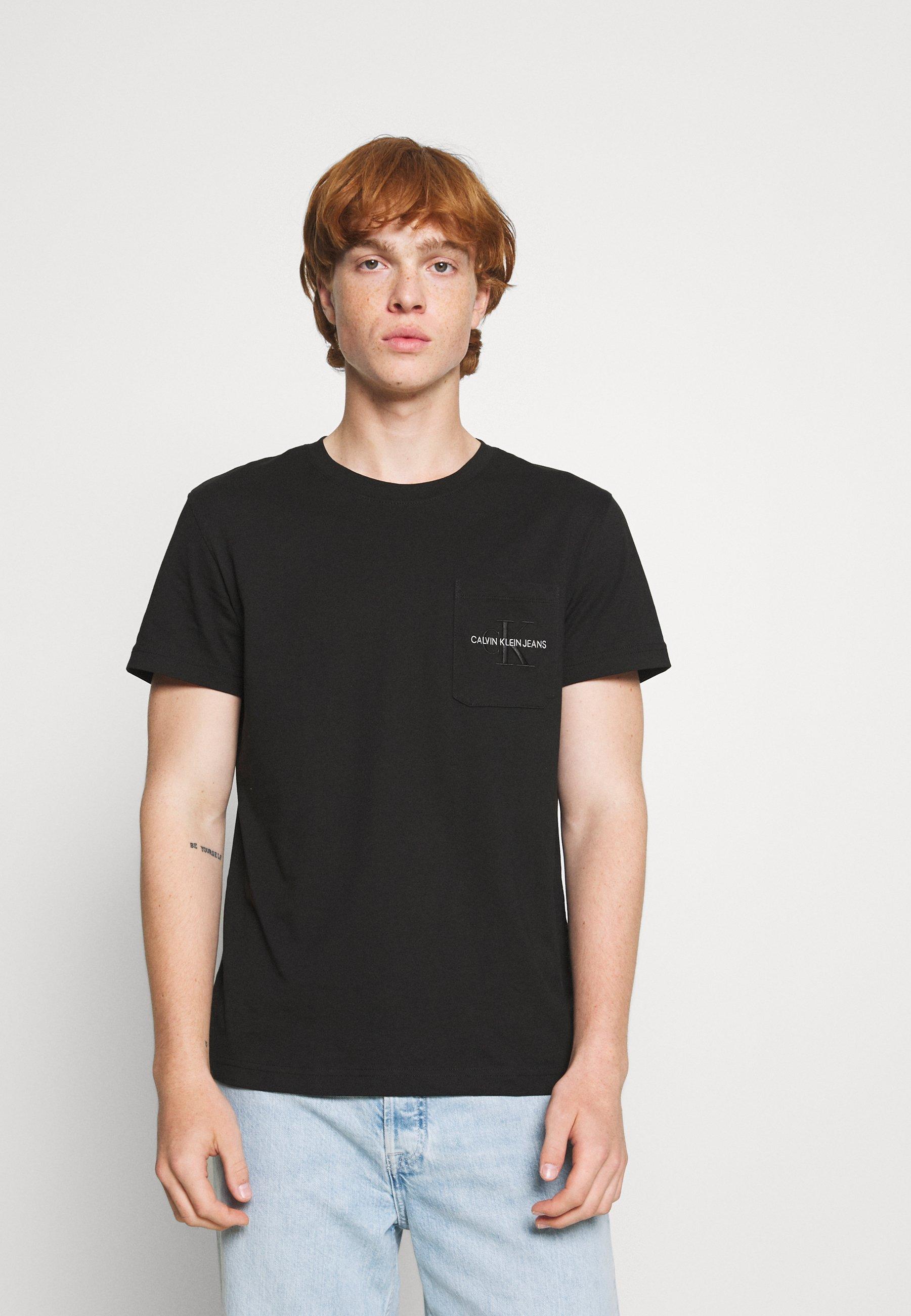 Herren MONOGRAM EMBROIDERY POCKET TEE - T-Shirt print