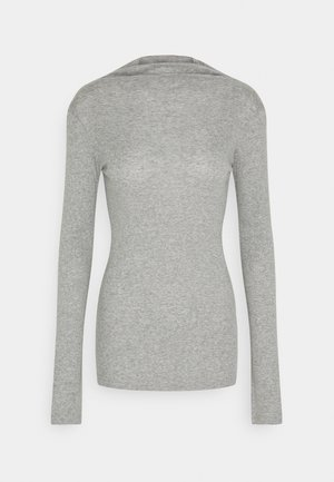 LONGSLEEVE TURTLENECK - Long sleeved top - cloudy melange