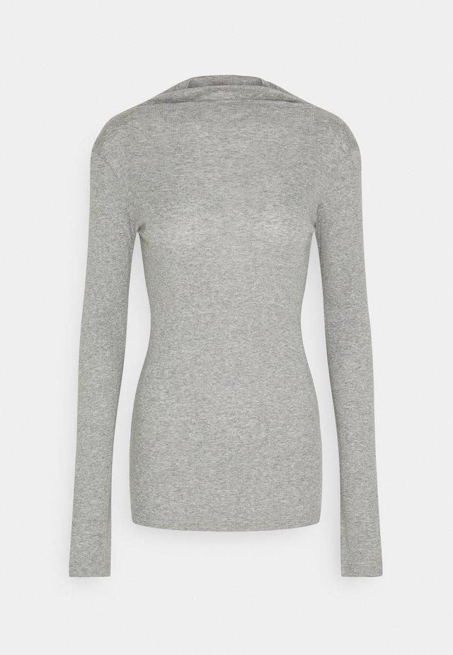 LONGSLEEVE TURTLENECK - Long sleeved top - cloudy melange