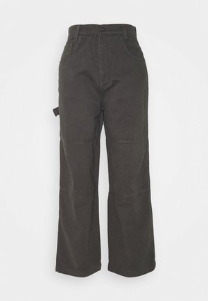 DRILL TROUSER - Pantalones - grey