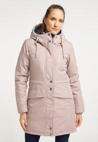 DreiMaster - Winter coat - nude melange - 0