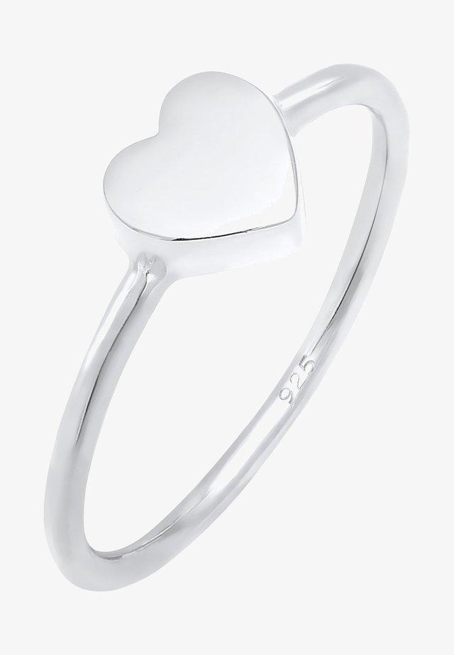 HERZ  - Prsten - silver-coloured