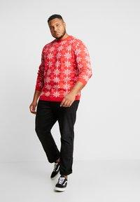 Jack´s Sportswear - XMAS ICEFLOWER - Jumper - red - 1