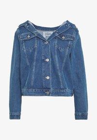 Levi's® Made & Crafted - OFF THE SHOULDR - Jeansjakke - blue denim - 4