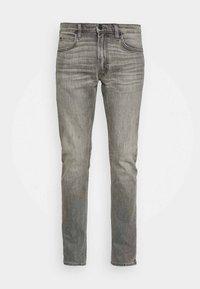 LUKE - Jeans slim fit - mid worn magnet