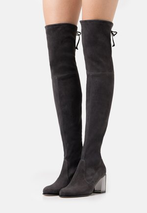 LOULOU BOOT - Cuissardes - lava