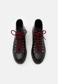 Walk London - SEAN LOW HIKER - Lace-up ankle boots - thunder black - 3