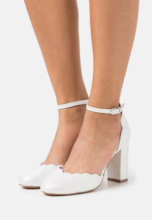 WHISPER - Zapatos altos - white