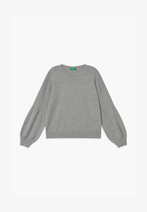 BASIC GIRL - Strikpullover /Striktrøjer - grey