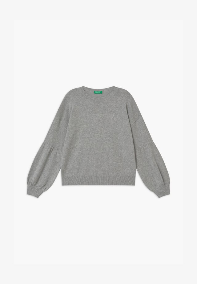 BASIC GIRL - Strikkegenser - grey