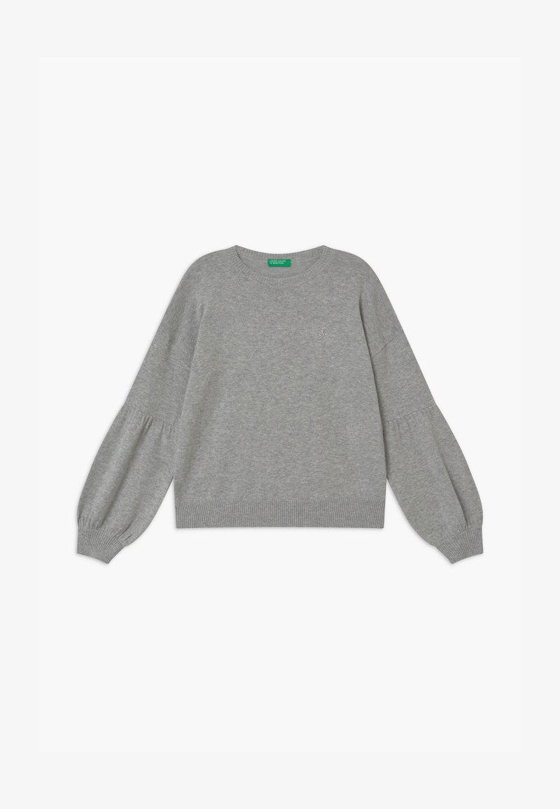 Benetton - BASIC GIRL - Svetr - grey