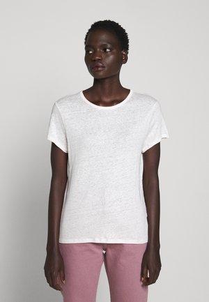 HAZEL TEE - Jednoduché triko - faded pink