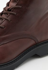 Selected Homme - SLHTIM BOOT - Lace-up ankle boots - demitasse - 5