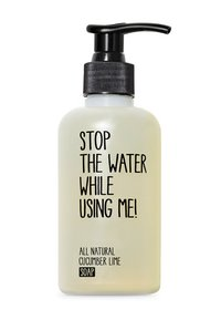 STOP THE WATER WHILE USING ME! - ALL NATURAL HAND KIT SOAP 200ML & HANDBALM 200ML - Bad- & bodyset - cucumber lime - 1