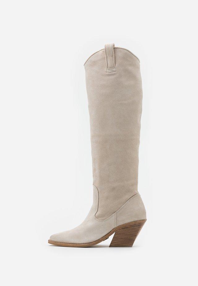 KOLE - Cowboy/Biker boots - sand