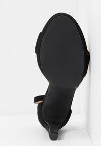 BEBO - CIMONA - Sandály na vysokém podpatku - black - 6