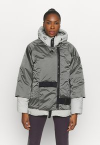 adidas Performance - URBAN COLD RDY OUTDOOR JACKET 2 IN 1 - Down jacket - grey - 0