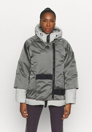 URBAN COLD RDY OUTDOOR JACKET 2 IN 1 - Bunda z prachového peří - grey