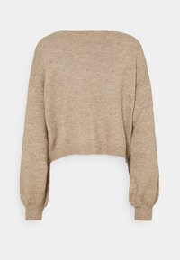 Nly by Nelly - OFF TOPIC - Cardigan - beige - 1