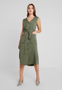 Moves - AURELI - Maxi dress - dusty green - 0