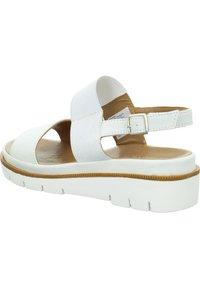 Marc - ROSA - Wedge sandals - weiß - 4