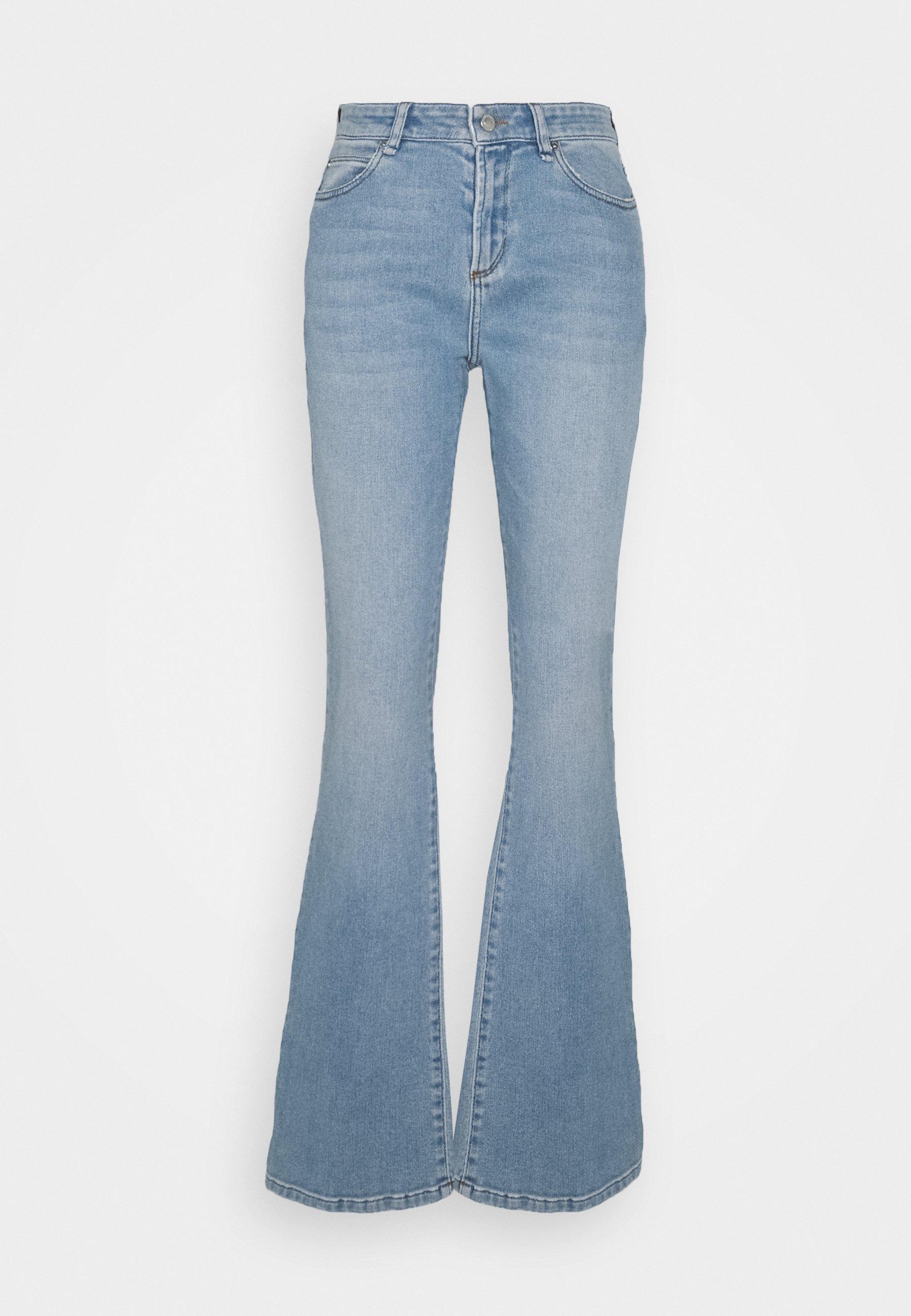 Damer TARA WASH MAYA BAY - Flared jeans