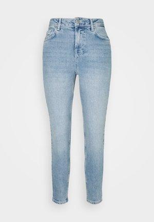 PCLEAH MOM - Skinny džíny - light blue denim
