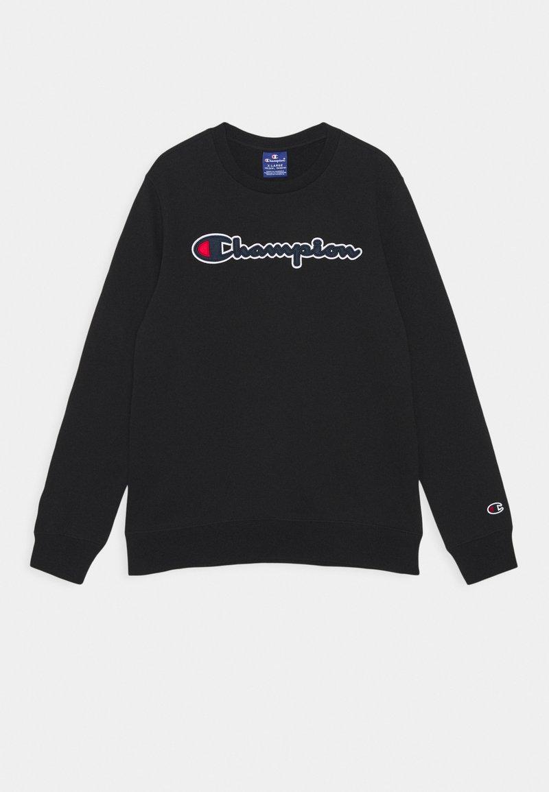 Champion Rochester - LOGO CREWNECK UNISEX - Sweatshirt - black