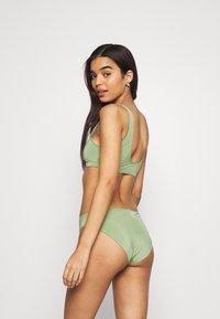 Monki - NILLA TOP MARNI BRIEF - Bikini - green - 2